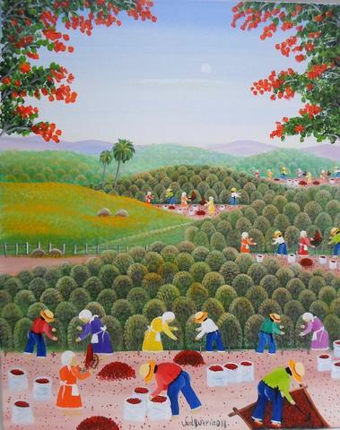 Obras da catalogada artista naif valquiria barros a venda