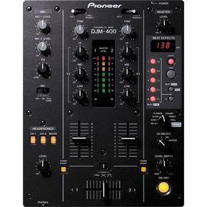 Pioneer djm-400 professional dj mixer 2-channel with