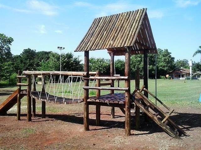 Playground e pergolados