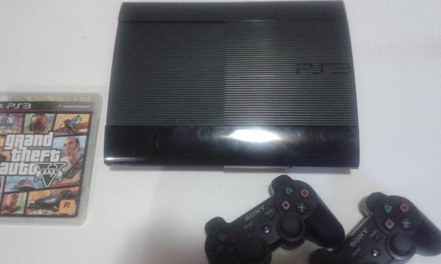 Playstation 3 slim semi novo apenas r$ 390,00