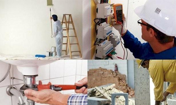 Reformas construções gesso e pinturas