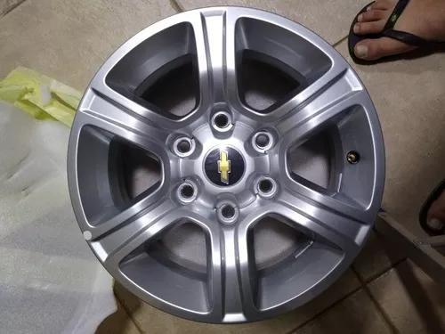 Roda da s10 de alumínio original novinha aro 16
