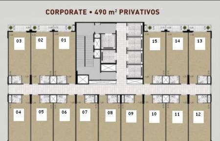 Sala comercial 32m² pronta helbor office nossa senhora do