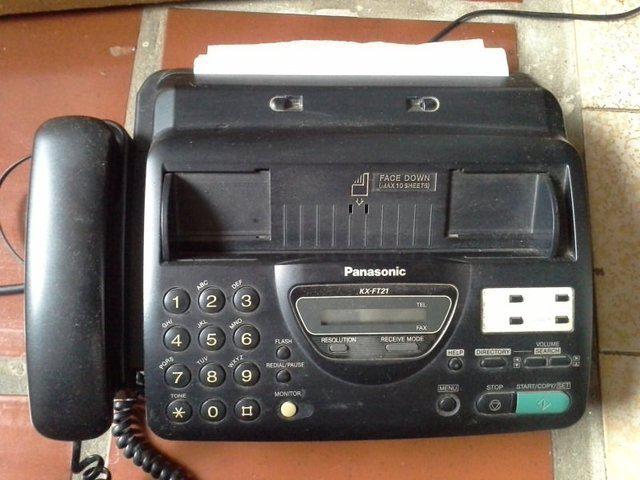 Telefone/fax panasonic