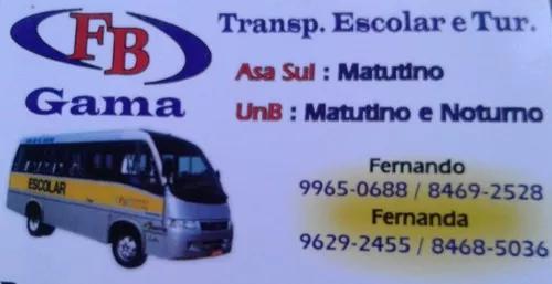 Transporte escolar gama - asa sul/unb