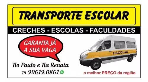 Transporte escolar (van escolar)