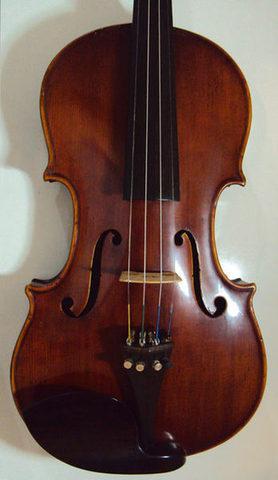 Vendo violino alemão do séc. xix