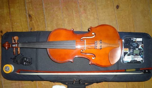 Vendo violino eagle 3/4 ve431 com afinador amt530