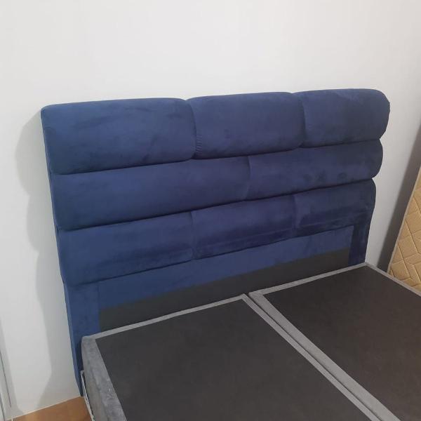 Cabeceira azul