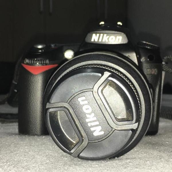 Camera nikon d90 lente 18-55mm usada