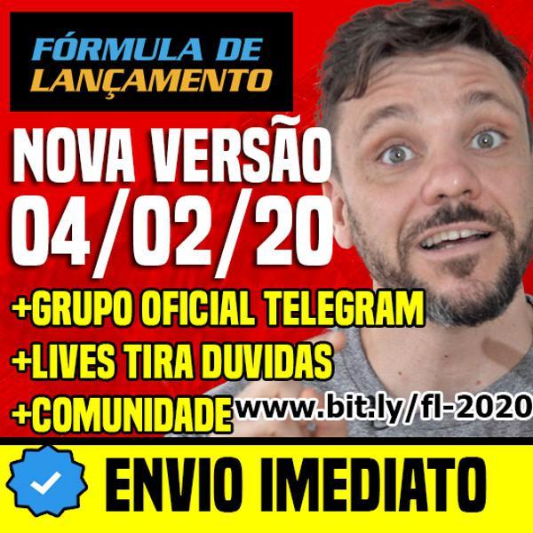 Curso formula de lançamento versão 2020 + comunidades