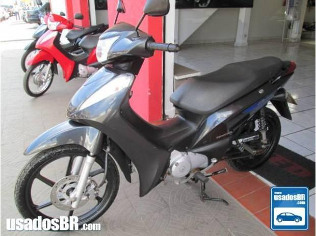 Honda biz 125cc ex 2012/2012 cinza unico dono estado de nova