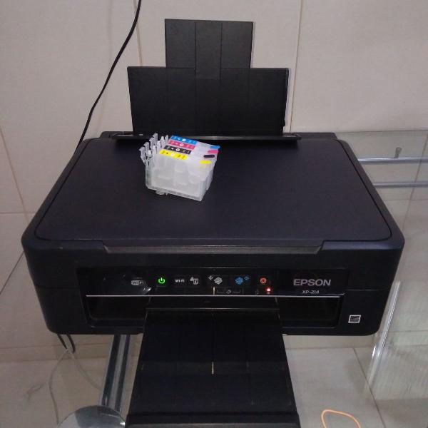 Impressora epson com cartucho