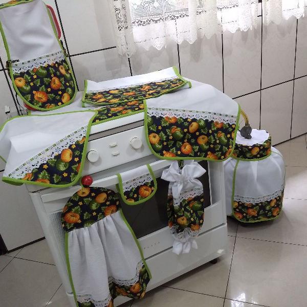 kit de cozinha oxford 9 peças pronta entrega!