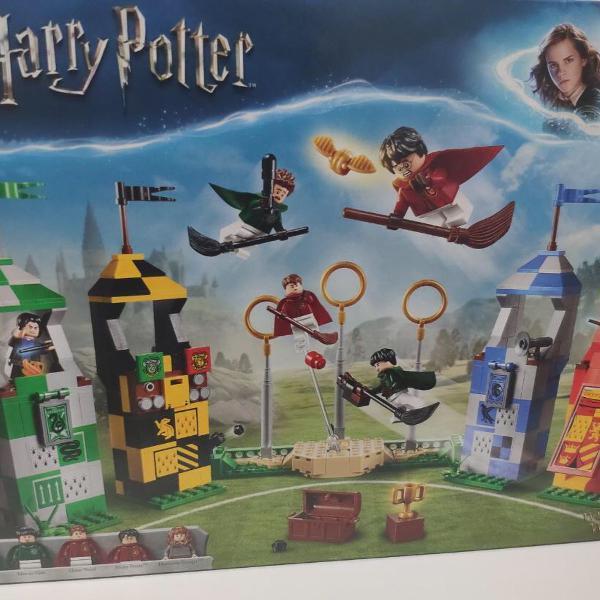 Lego harry potter quadribol 75956 - 500pçs