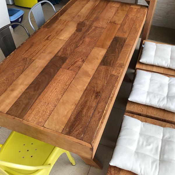 Mesa completa varanda