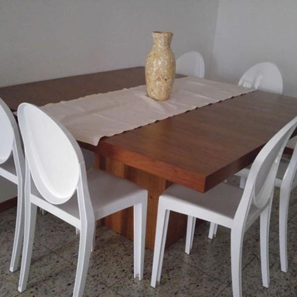 Mesa de jantar quadrada!