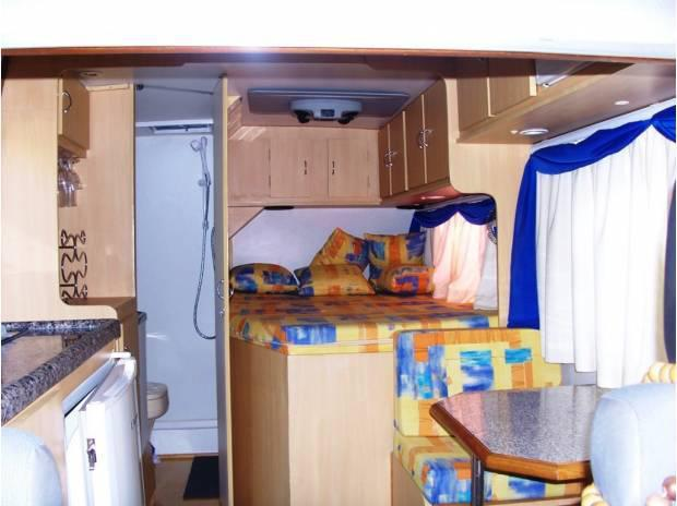 Motorhome trailer pequeno bateria gel placa solar novo