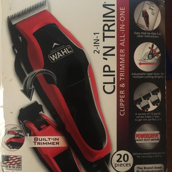 Máquina de cortar cabelo profissional da wahl