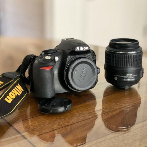 Máquina fotográfica - nikon d3100