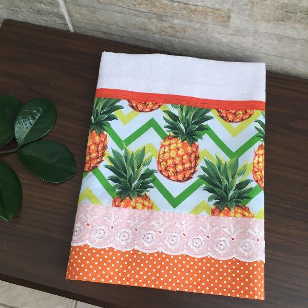 Pano de copa abacaxi