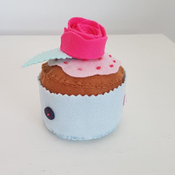 Porta agulha cupcake