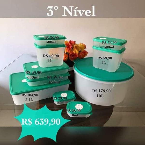 Produtos tupperware para refrigerador - refribox