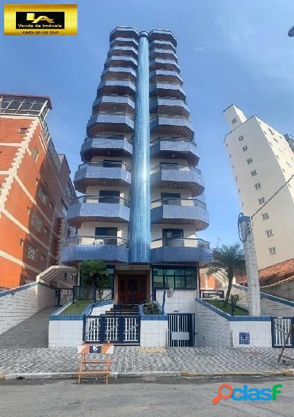 Apartamento com 2 dormitórios vista mar no bairro da tupi 90 metros do mar