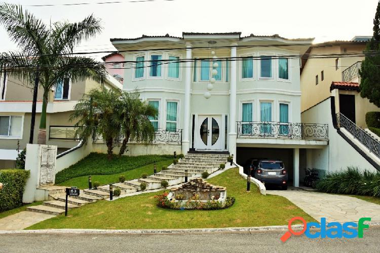 Casa em condomínio - venda - santana de parnaãba - sp - alphaville