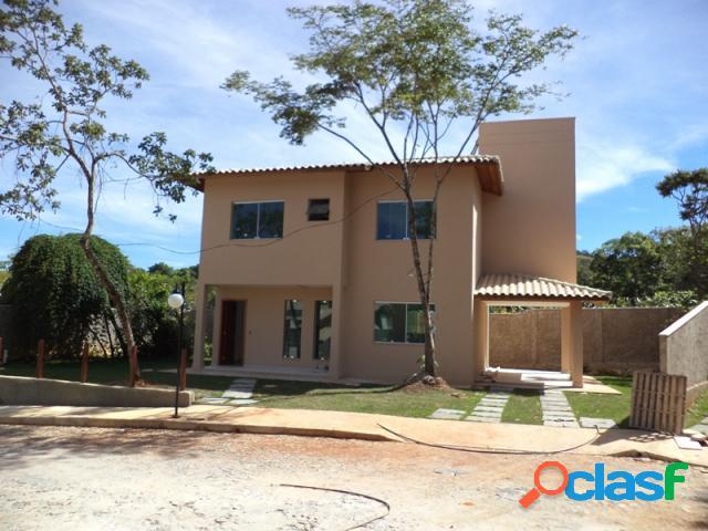 Casa em condomínio fechado - venda - lagoa santa - mg - condominio residencial jasmim