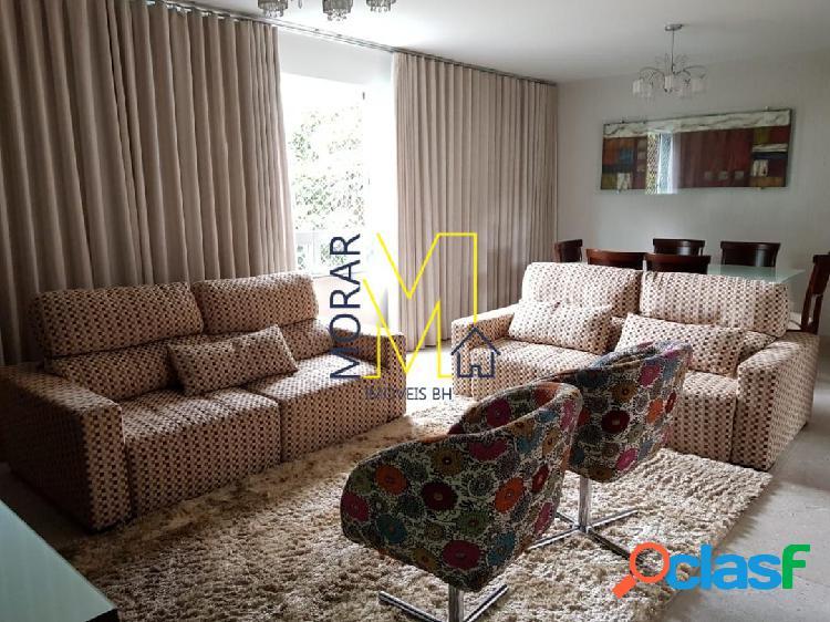 Apartamento com 4 dormitórios à venda, 225 m² por r$ 1.390.000 - são josé - belo horizonte/mg