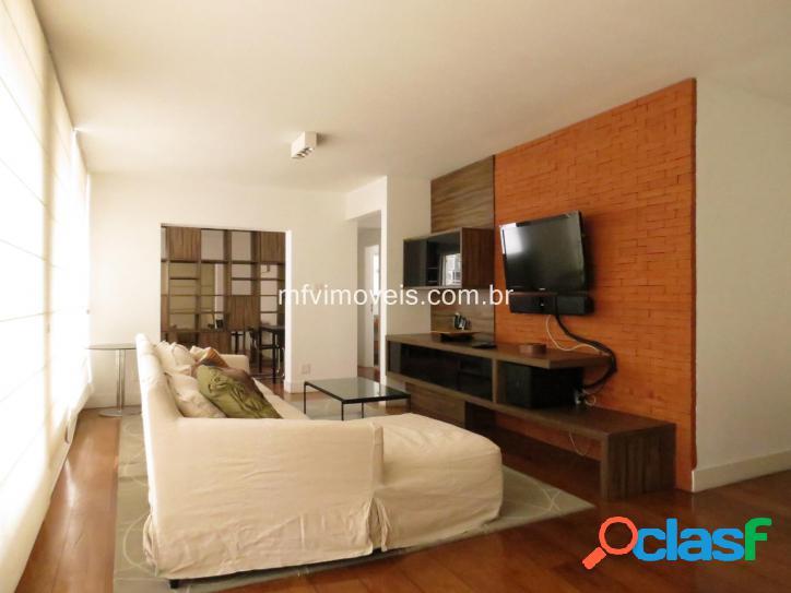 Apartamento mobiliado de 2 quartos para locação no jd paulista