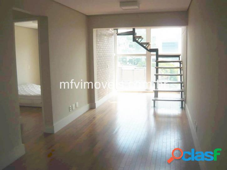 Cobertura duplex 2 quartos à venda na rua alves guimarães - pinheiros