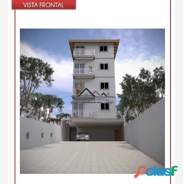 Apartamento com 2 quartos à venda, 50 m² no outeiro de passárgada - cotia