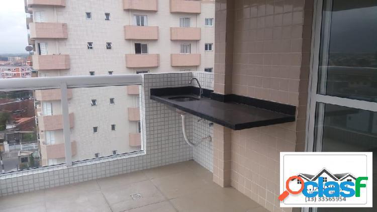 Apartamento novo em Praia Grande / Vila Tupi / 2 Dormitórios. 2