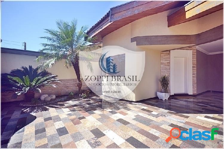 Ca770 - casa a venda em americana sp, jardim ipiranga, 241 m² de construção