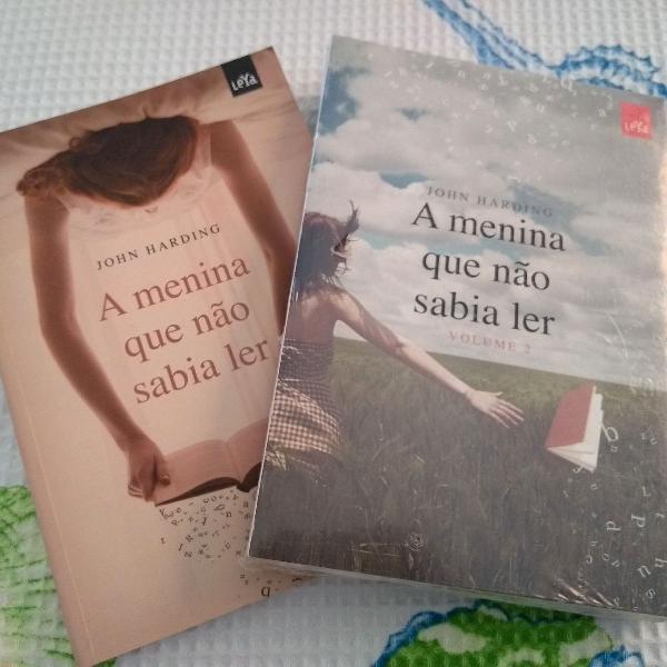 A menina que não sabia ler. vol. 1 e 2