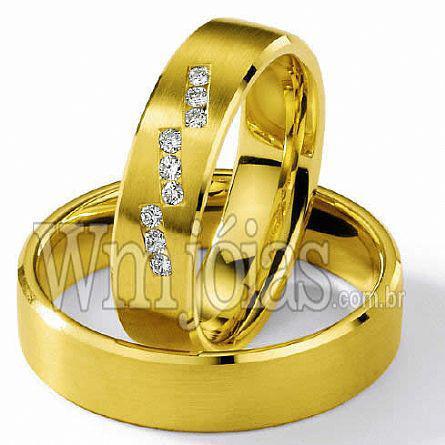 Alianças de casamento vitória