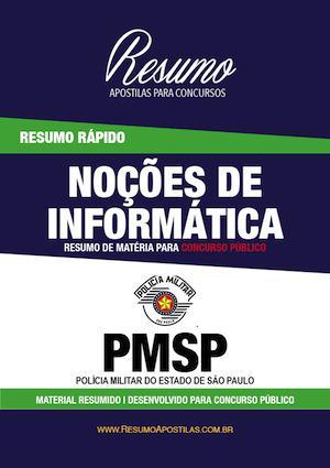 Apostila pmsp - informática - resumo rápido