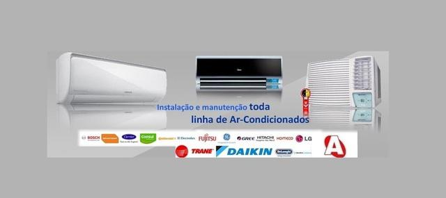 Ar condicionado, diversas marcas e modelos - venham