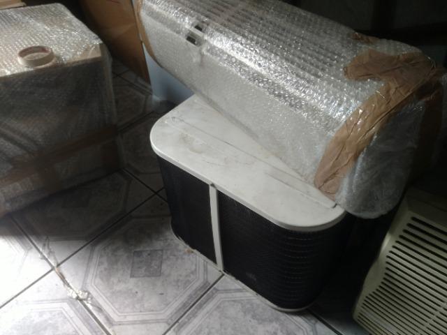 Ar condicionado split elgin 9000 btu- condensadora compacta