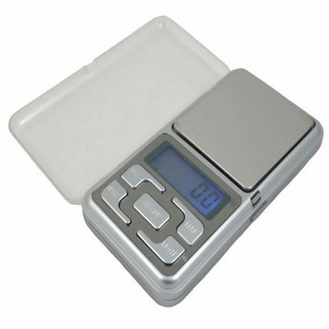 Balança digital de bolso alta precisão 0.1g até 500g