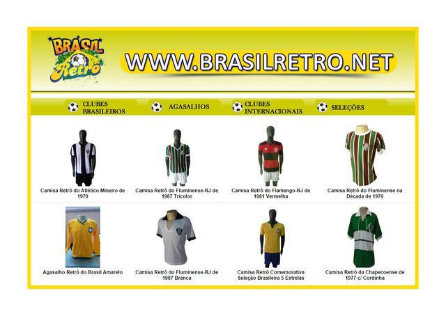 Camisas retrô   loja de camisas retro de futebol   brasil