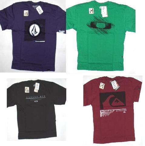 Camisetas frete gratis hurley, volcon, element... originais