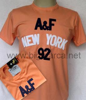 Camisetas e camisas hollister, abercrombie