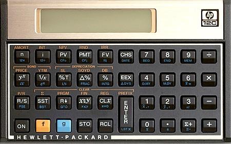 Curso matemática financeira com hp 12c