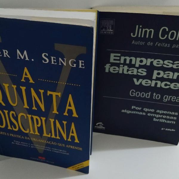 Empresas feitas para vencer e a quinta disciplina