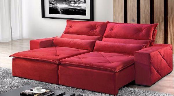 Estofado retrátil e reclinável 2,00 x 1,00 - kaza design