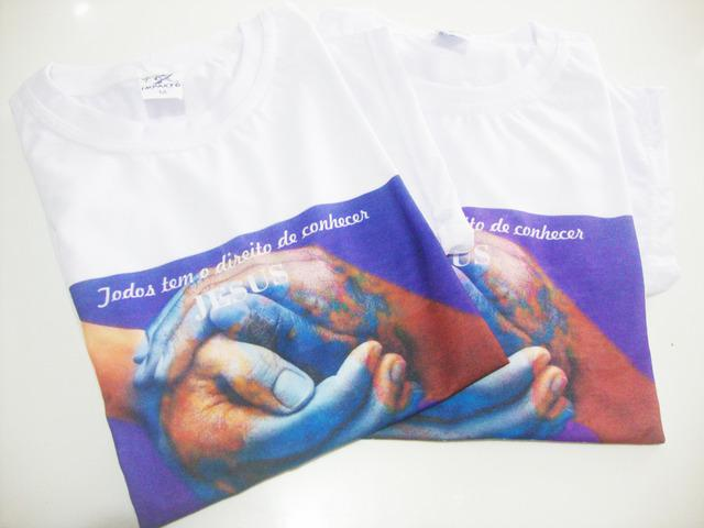 Fazemos camisas personalizadas com sua foto