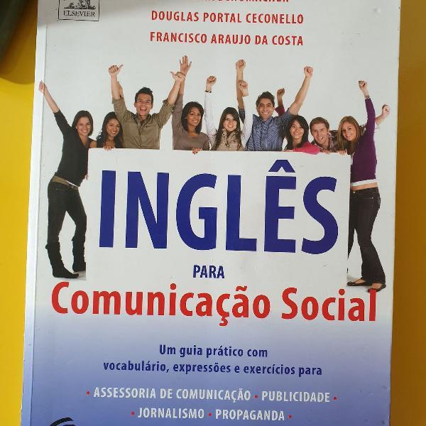 """Livro """"inglês para comunicação social"""""""